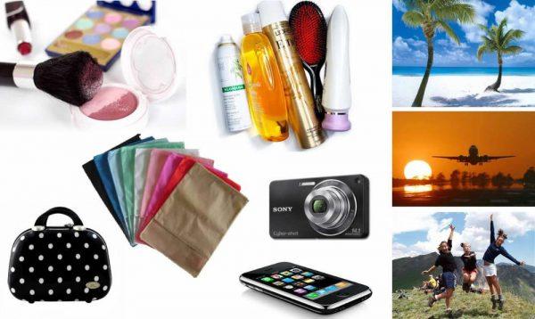 149bca7386 Checklist para arrumar a mala