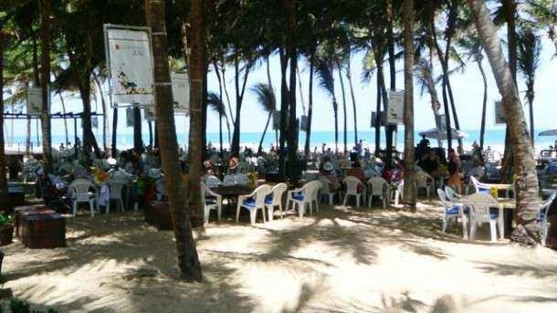 Beach Park barracas chandon
