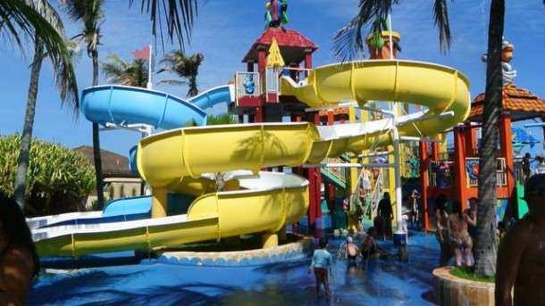 Beach Park pequenos acqua show2