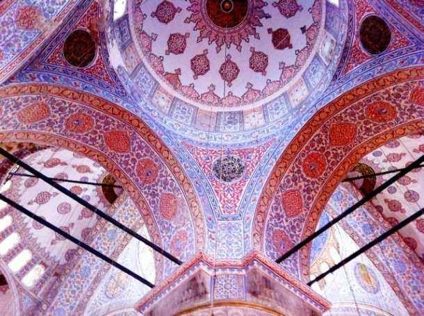 Istambul mesquita azul dentro 2