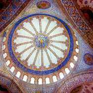 Istambul mesquita azul dentro 3