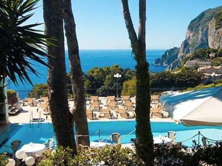 5 hotéis de luxo em Capri