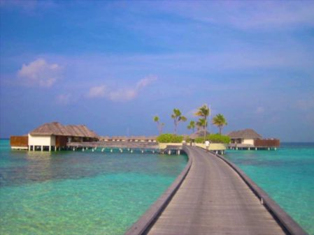 Hotel de luxo em Maldivas: W Maldives