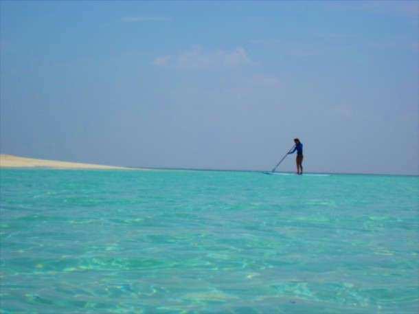 Maldivas hotel stand up