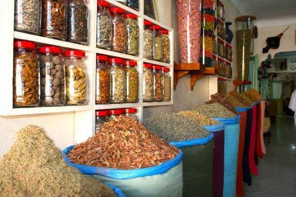 Marrakech especiarias farmacia