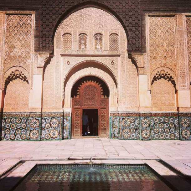 Marrakech Medersa linda