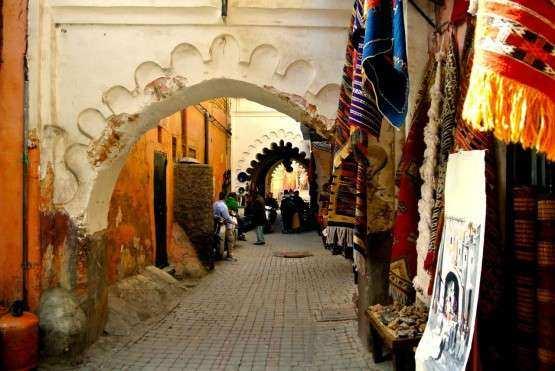 Marrakech medina passeios capa