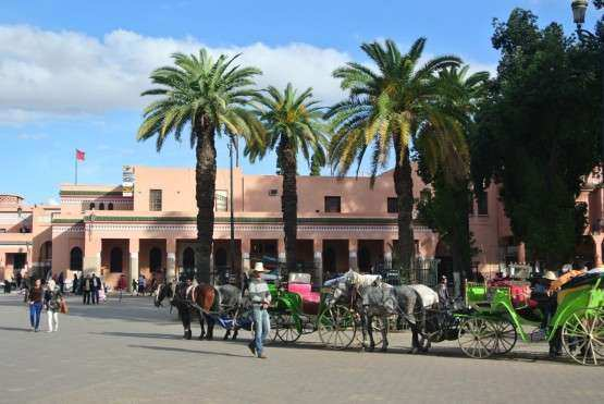 Marrakech praca charretes