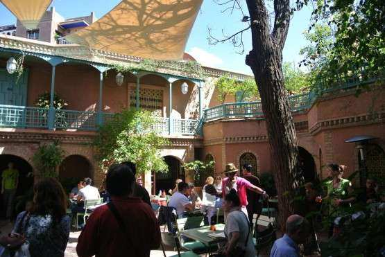 Marrakech rest Cafe Bousafsaf 2