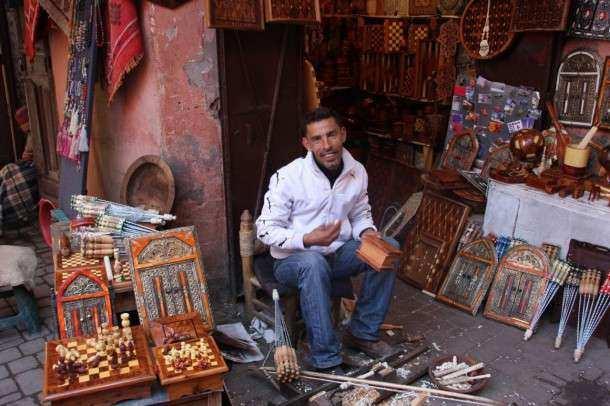Marrakech souk 1