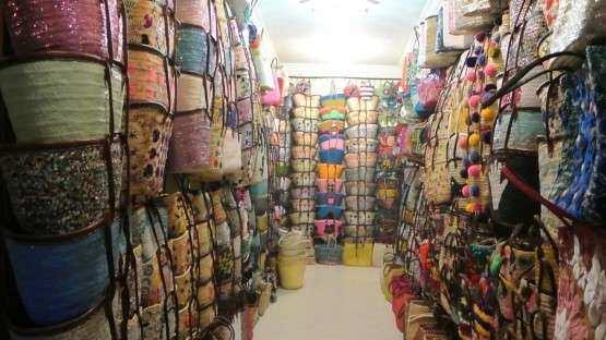 Marrakech souks cestos