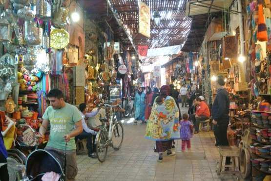 Marrakech souks geral