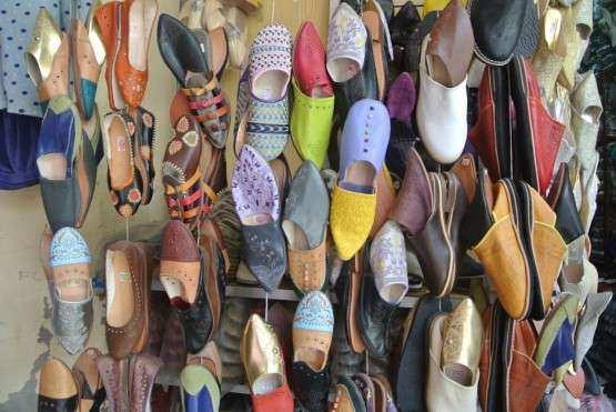 Marrakech souks sapato 2