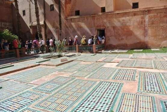 Marrakech tombs 2