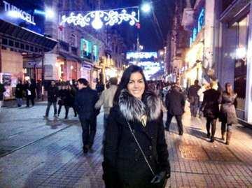 Istambul rua pedestre