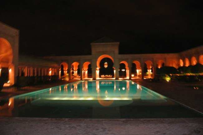 Marrakech Aman piscina