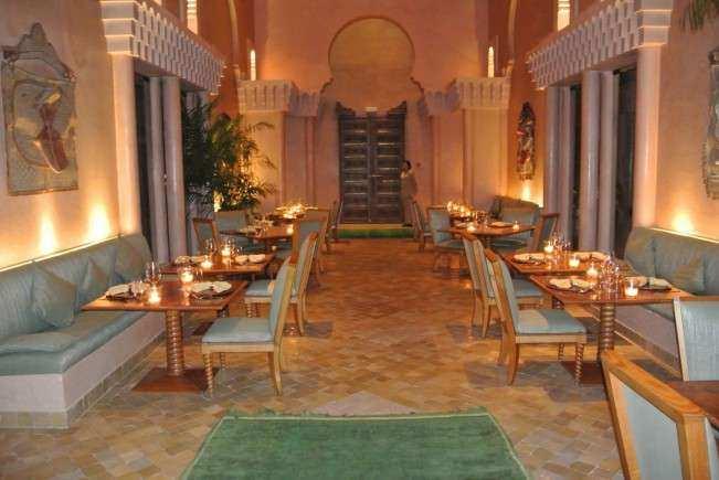 Marrakech Aman restaurante