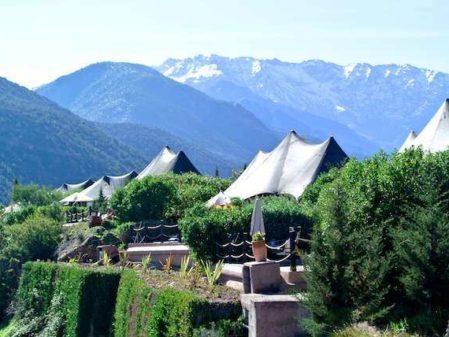 Hotel de luxo nas Montanhas Atlas do Marrocos: Kasbah Tamadot
