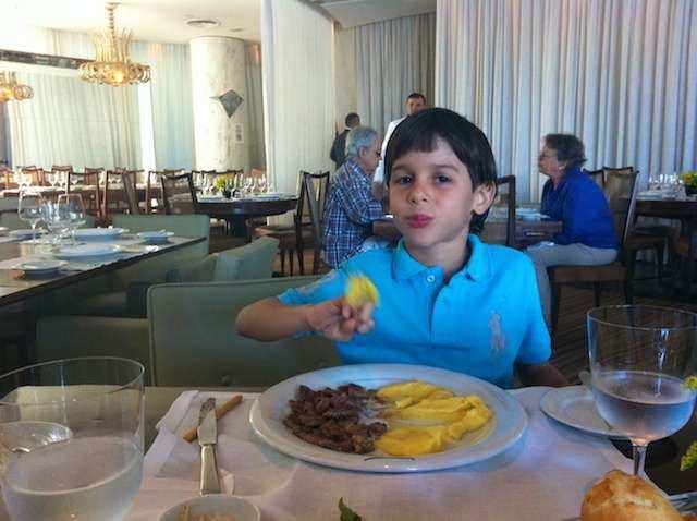 Fasano Kids restaurante gabi