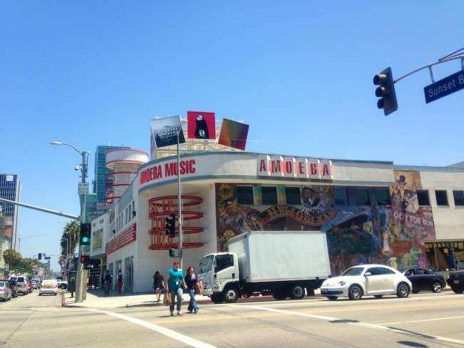 Los Angeles Amoeba P