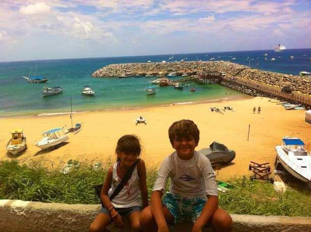 Noronha Praia porto criancas