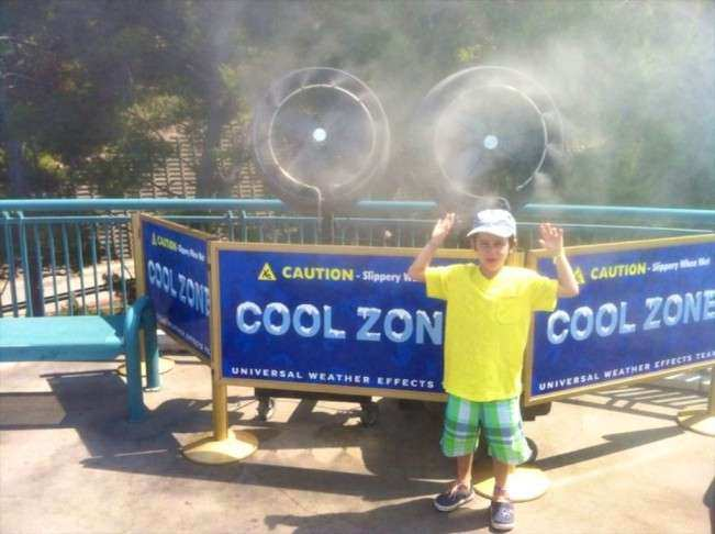 CA Universal Cool Zone