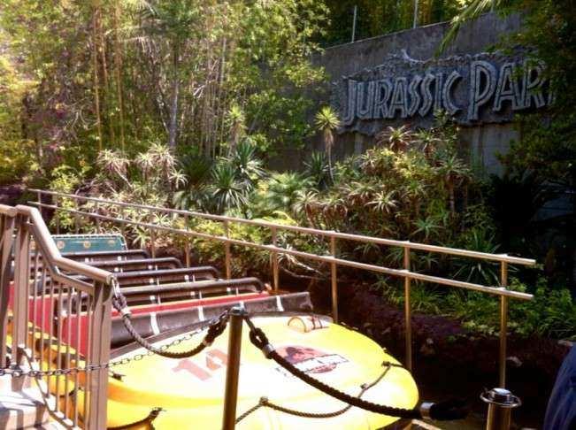 CA Universal Jurassic Park 1