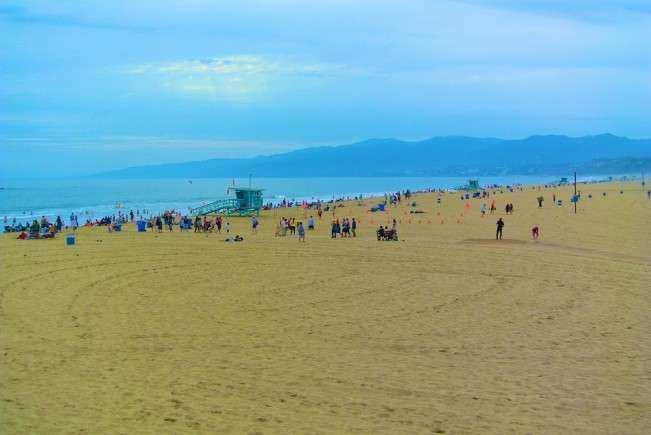 Los Angeles Santa Monica Praia