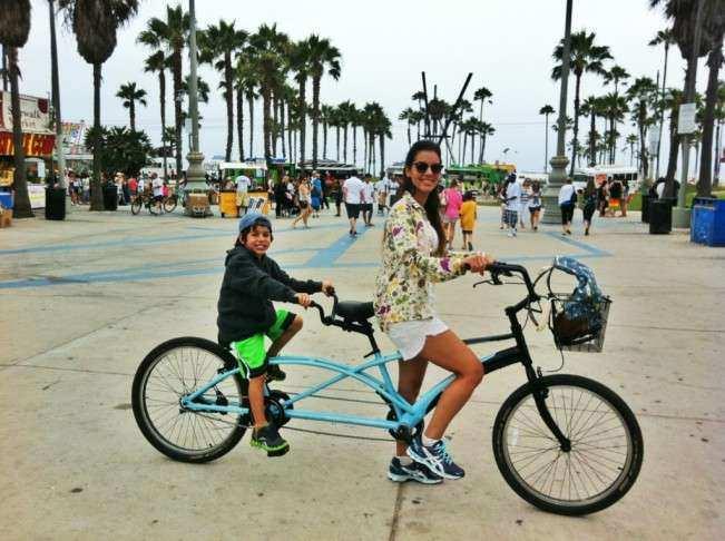 Los Angeles Venice bicicleta