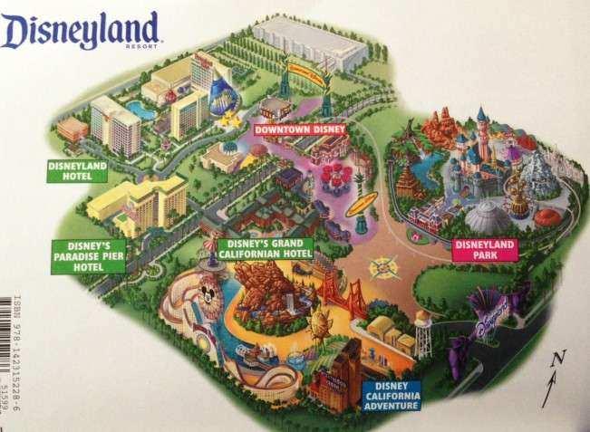 CA Disney mapa complexo