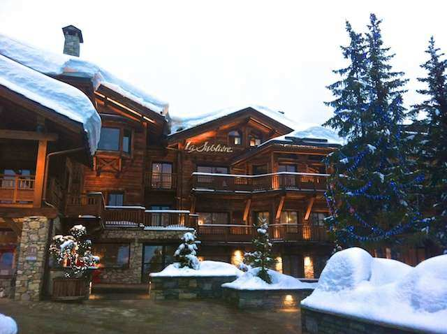 Courchevel hotel