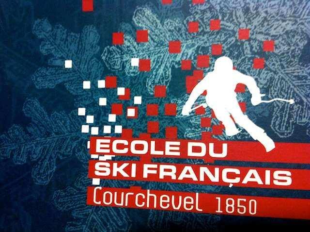 Courchevel ski aula