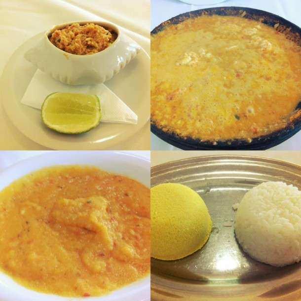 Salvador Yemanja comida