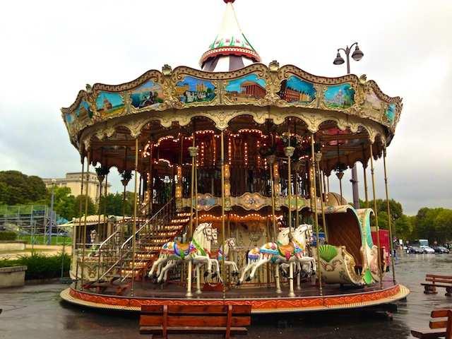Paris kids carrossel
