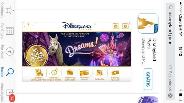 Paris Disney app