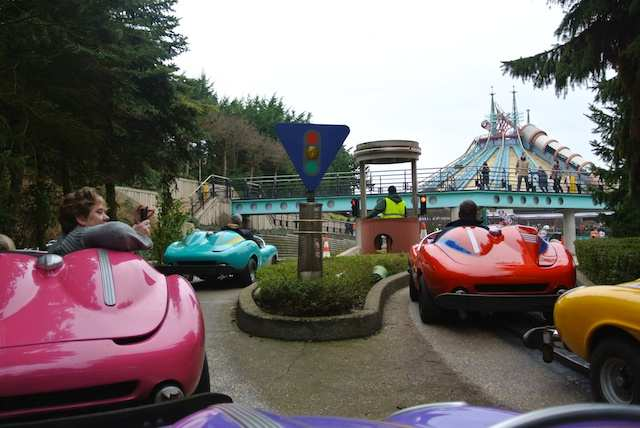 Paris Disney autopia