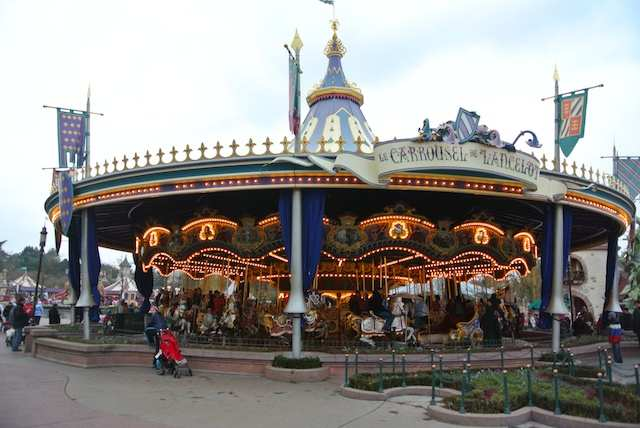 Paris Disney carrossel