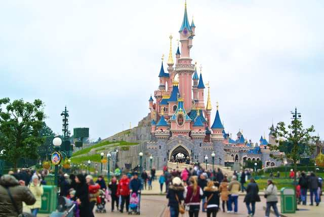 Paris Disney castelo