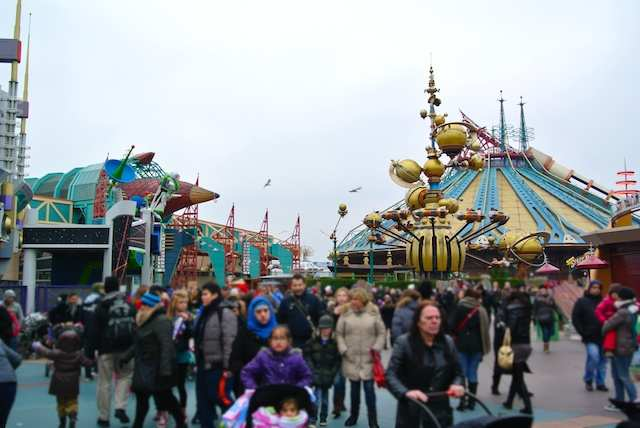 Paris Disney orbiton