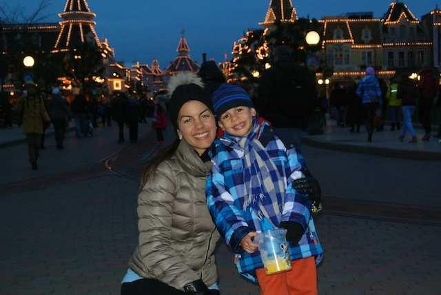 Paris Disney pri e gabi noite 1