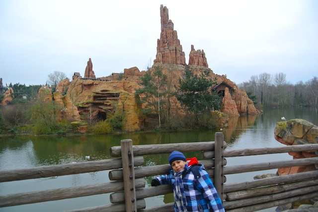 Paris Disney thunder mountain
