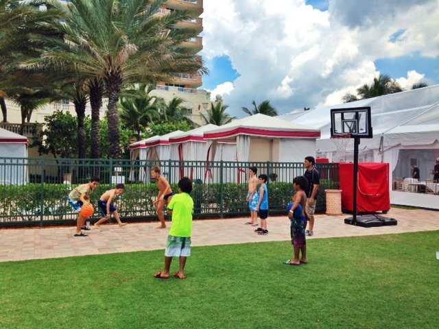 Miami Acqualina basquete