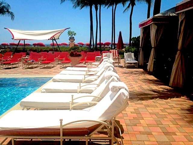 Miami Acqualina cabanas