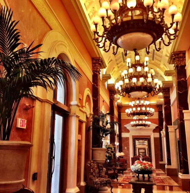 Miami Acqualina lobby