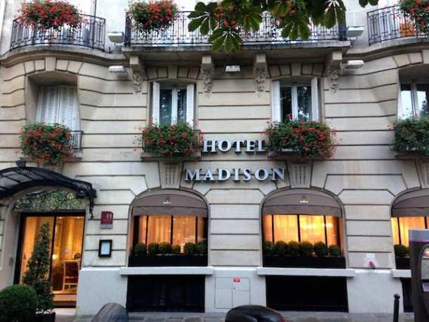 Paris Hoteis Madison