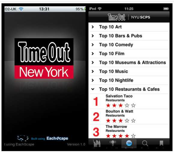 app time out new york