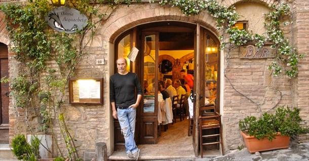Toscana restaurante Osteria Acquaceta