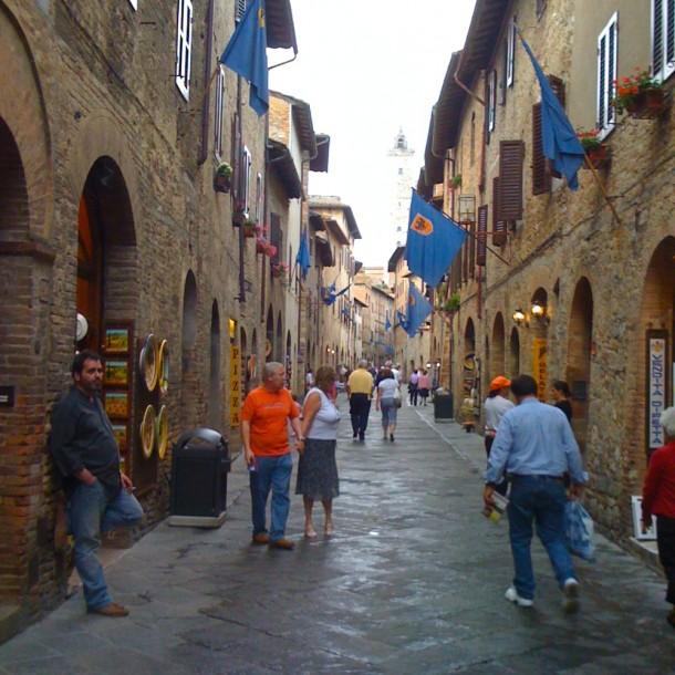 Toscana restaurante San Gimignano
