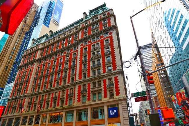 Melhor hotel em Times Square The Knickerbocker 4