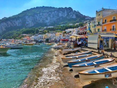 Como chegar em Capri na Costa Amalfitana